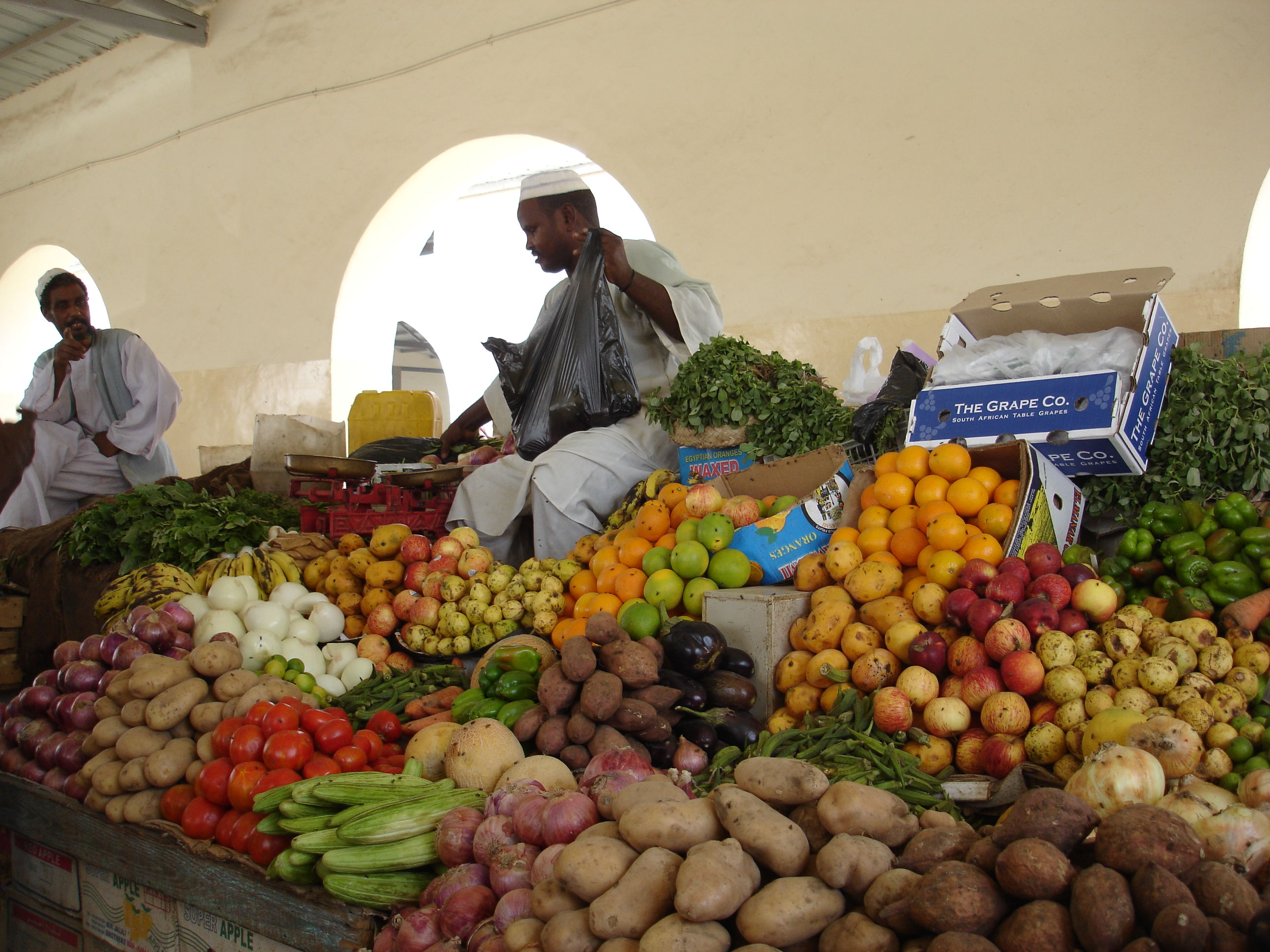 Market in Port Sudan